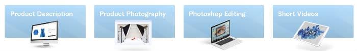 Contenu des fiches produits par Fiverr pour le drop shipping