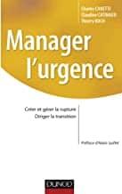 Livre manager dans l'urgence