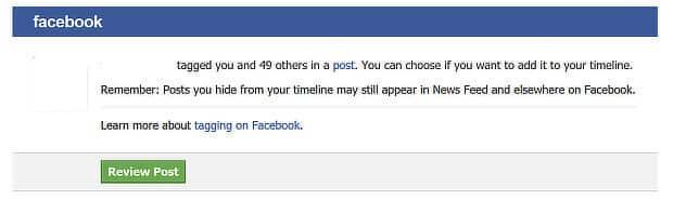 Facebook growth hack