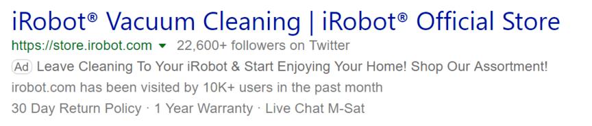 Publicite Bing Ads