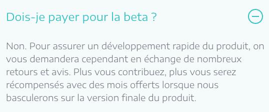 Plezi One gratuit tarif beta