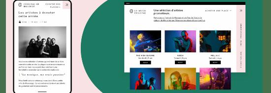 Un site design sur Wix ? Voici 30 des plus beaux sites réalisés avec Wix