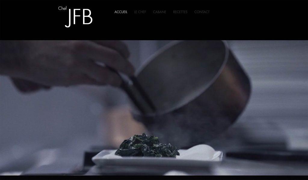 Site design Chef JFB