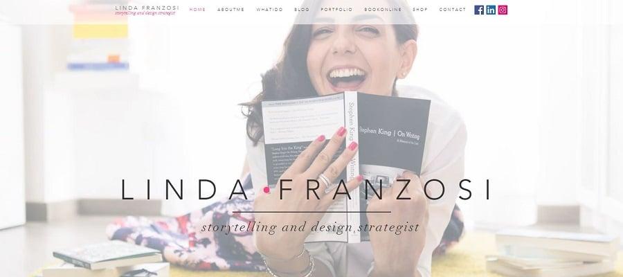 Site design Linda Franzosi