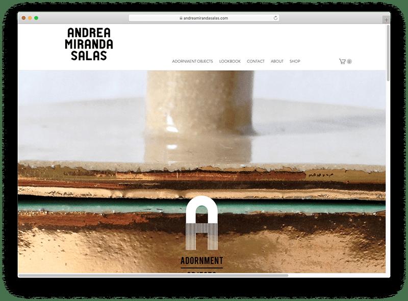 Site design andrea miranda
