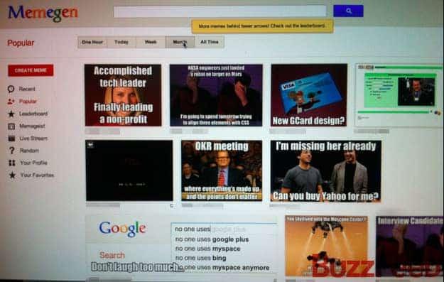 memegen communication interne Google