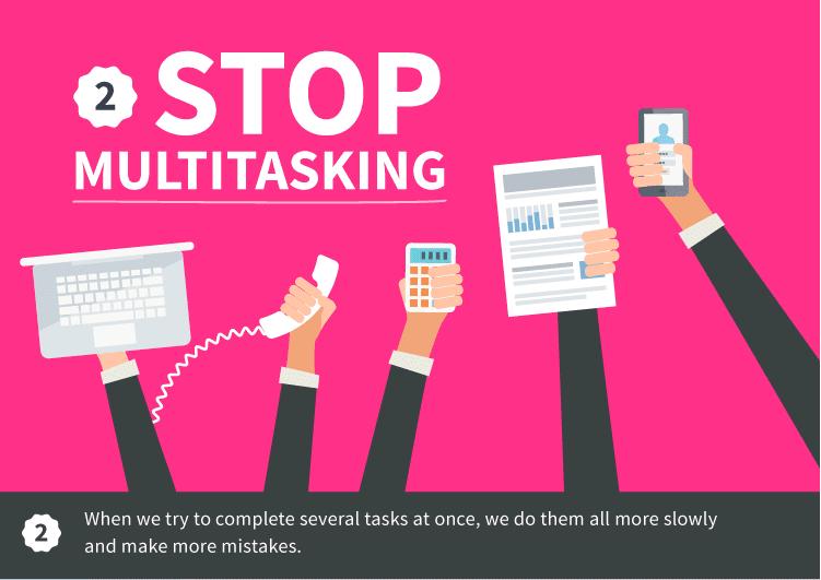 stop au multitasking
