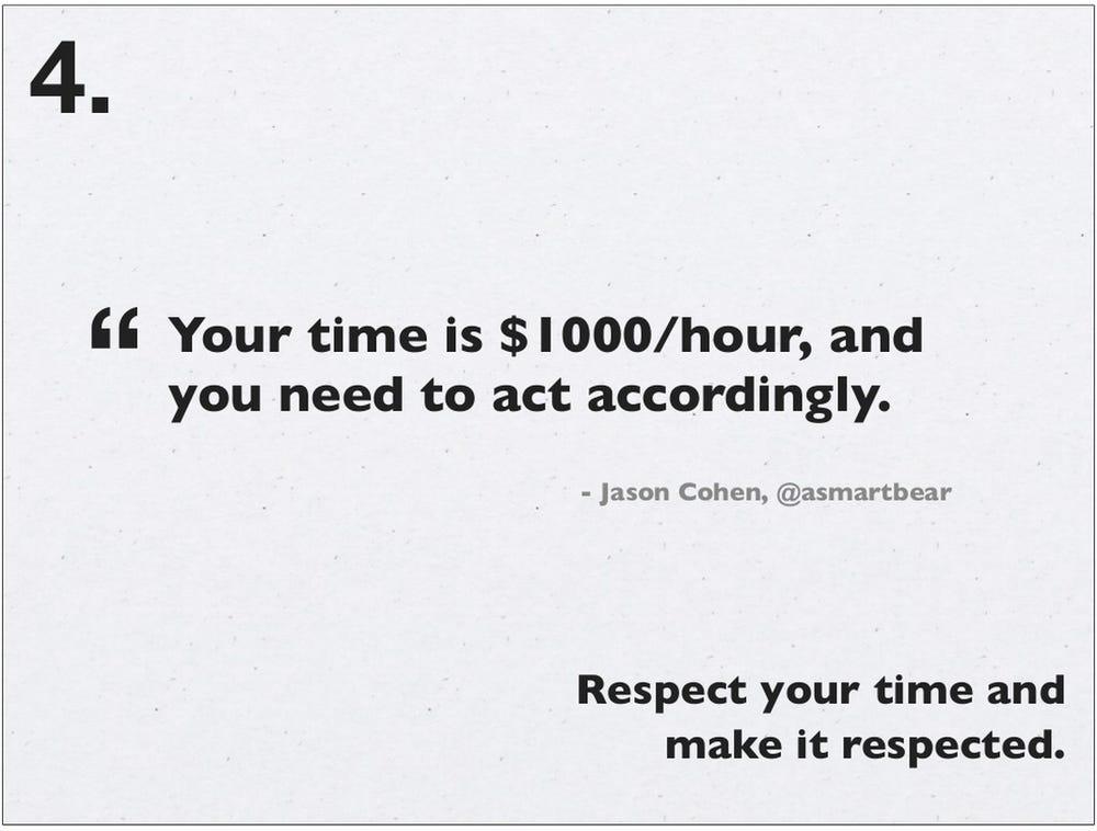 gestion du temps une heure vaut 1000$